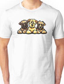 Three Wheaten Softies Unisex T-Shirt