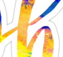 Phi Tie Dye Sticker