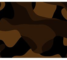 brown abstract Photographic Print