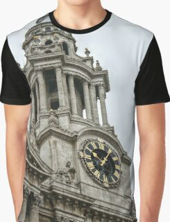 Tower Facing South on the West Side of St Paul's Graphic T-Shirt