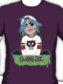 Gorillaz 2D Pixel Art T-Shirt