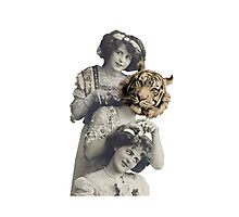 Circus sisters Photographic Print
