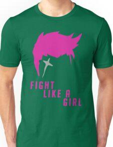 Zarya - Fight Like A Girl Unisex T-Shirt