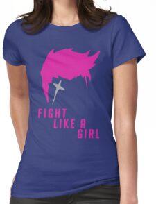 Zarya - Fight Like A Girl Womens Fitted T-Shirt