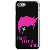 Zarya - Fight Like A Girl iPhone Case/Skin