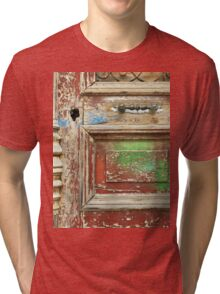 old painted door Tri-blend T-Shirt