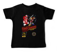 8-bit Power Rangers Baby Tee