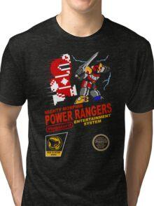 8-bit Power Rangers Tri-blend T-Shirt