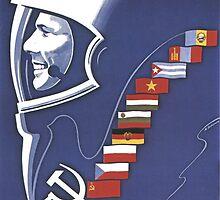 Yuri Gagarin by lucasbrondi