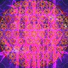 Metatron's Sun Bamboo Bubblegum || Bamboo Empire || Fractal Art by SirDouglasFresh