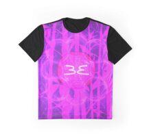Pink Sun Bamboo || Bamboo Empire || Fractal Art Graphic T-Shirt