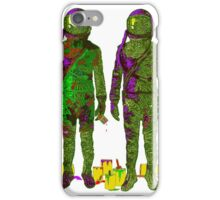 Painted Astronauts iPhone Case/Skin
