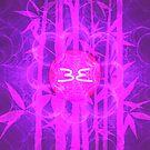 Pink Sun Bamboo || Bamboo Empire || Fractal Art by SirDouglasFresh