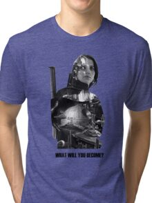 Star Wars : Rogue One - Jyn Erso's fate Tri-blend T-Shirt