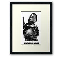Star Wars : Rogue One - Jyn Erso's fate Framed Print