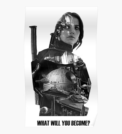 Star Wars : Rogue One - Jyn Erso's fate Poster