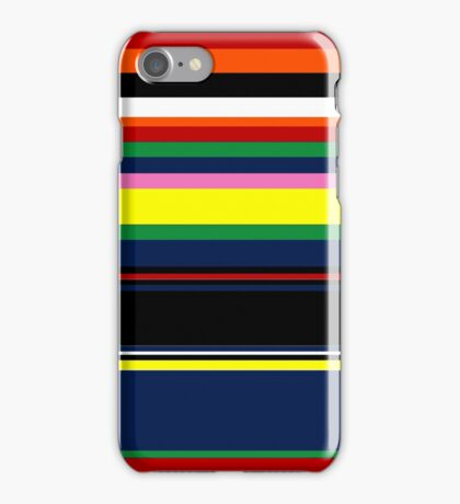 stripey kate iPhone Case/Skin