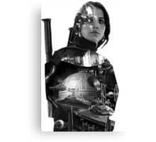 Star Wars : Rogue One - Jyn Erso's fate - TEXTLESS VARIANT Canvas Print