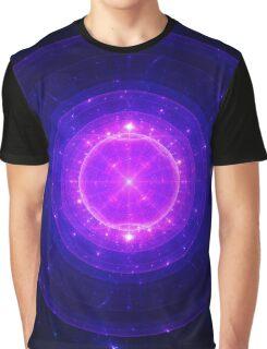 Enlightening Ki Bubble Bath || Future Life Fashion || Fractal Art Graphic T-Shirt