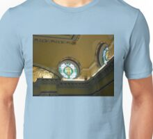 Elegant Stained Glass Windows, Town Hall, South Shields Unisex T-Shirt
