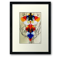 mirror imagination Framed Print