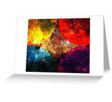 Four Suns Triforce Bright || Future Life Fashion || Fractal Art Greeting Card