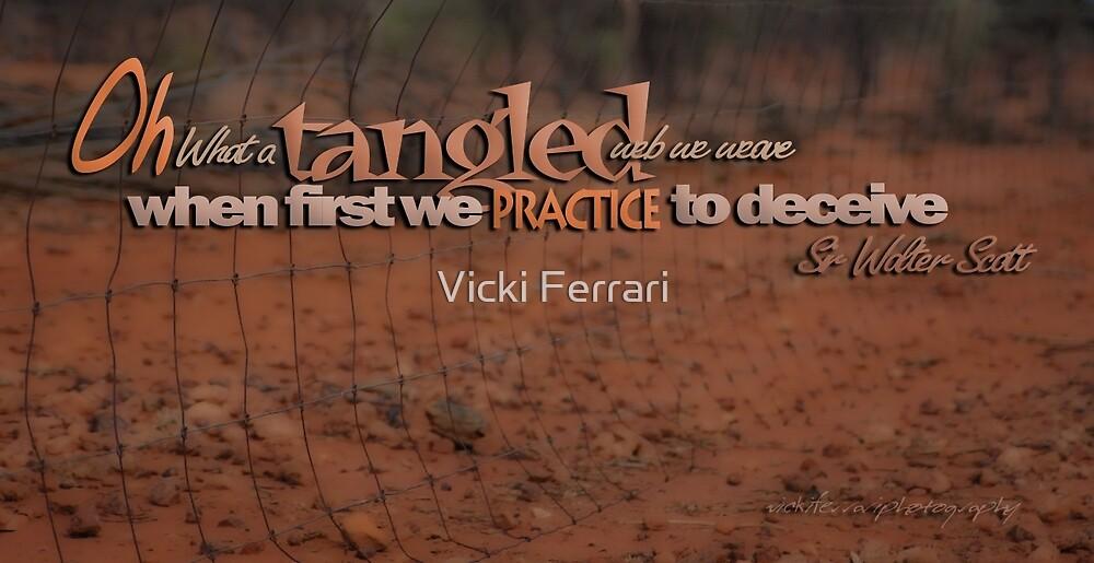 Tangled Webs 05 © Vicki Ferrari by Vicki Ferrari