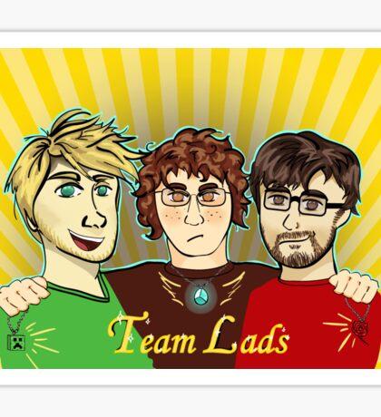 Team Lads ~ Achievement Hunter Sticker