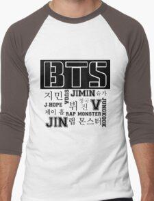 BTS! Men's Baseball ¾ T-Shirt