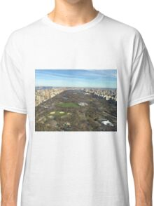 Views from a Penthouse over looking Center Park in New York City Classic T-Shirt