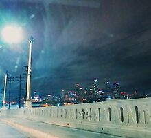 Whittier Blvd bridge. by Santamariaa