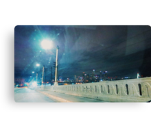Whittier Blvd bridge. Canvas Print