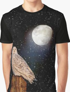 Brighter than the moonlight Graphic T-Shirt