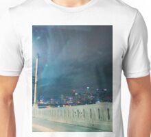 Whittier Blvd bridge. Unisex T-Shirt