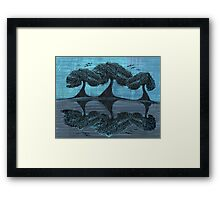 Tree Reflected   Framed Print