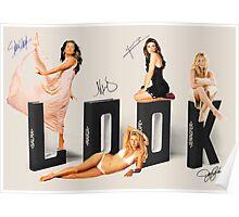 Salma, Maria, Pe and Jen, LOOK! Poster
