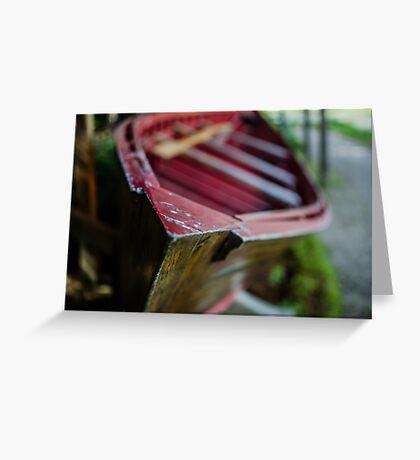 Boat, Logging Museum, Algonquin Park Greeting Card
