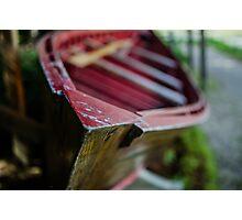 Boat, Logging Museum, Algonquin Park Photographic Print