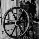 Antique Engine, Logging Museum, Algonquin Park by Graham Beatty
