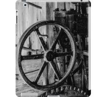 Antique Engine, Logging Museum, Algonquin Park iPad Case/Skin