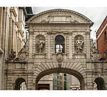 Arch Next to Saint Paul's Cathedral Photographic Print
