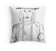 Justin. Throw Pillow