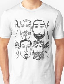 Beards. (plural) Unisex T-Shirt