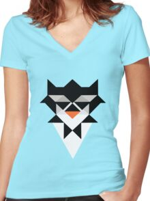 Emperor Penguin Women's Fitted V-Neck T-Shirt