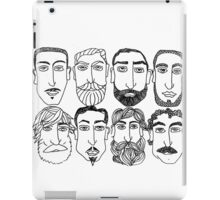 Beards. (plural) iPad Case/Skin
