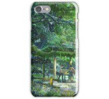Garden of the Words Goodies iPhone Case/Skin