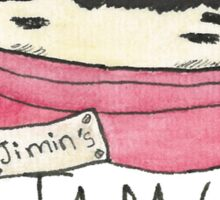 Jimin's Jam Jar Sticker