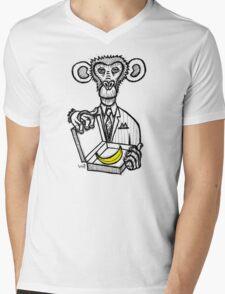 Monkey Business Mens V-Neck T-Shirt