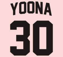 Yoona 20 Jersey Shirt by Nitewalker314