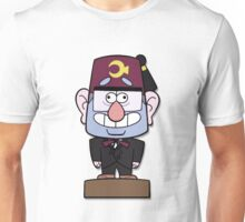 Mr Mystery Bobblehead Unisex T-Shirt